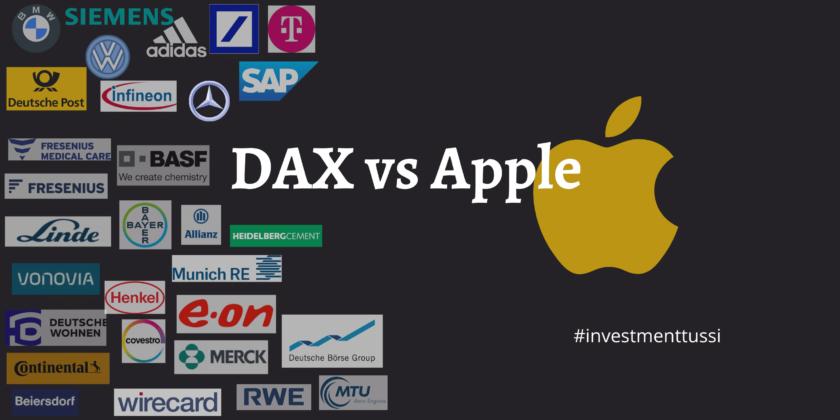 DAX oder Apple